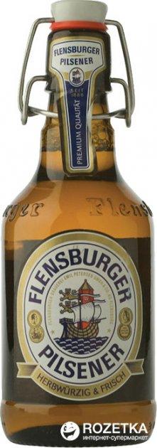 Упаковка пива Flensburger Pilsener світле фільтроване 4.8% 0.33 л x 24 шт. (41030806) - зображення 1