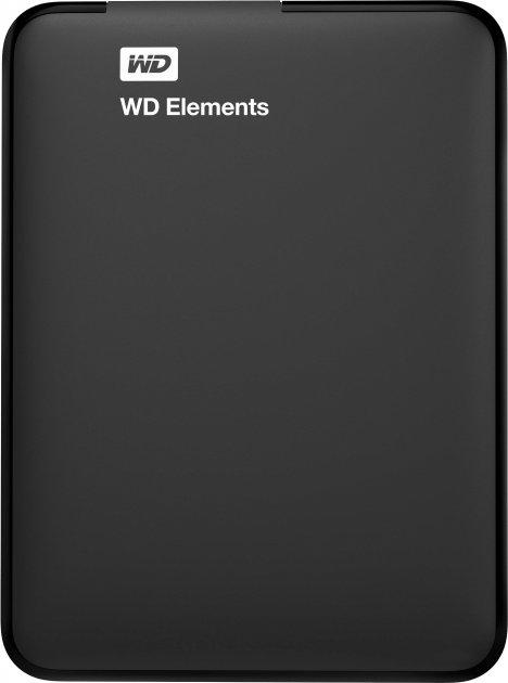 Жесткий диск Western Digital Elements 1TB WDBUZG0010BBK-WESN 2.5 USB 3.0 External Black - изображение 1