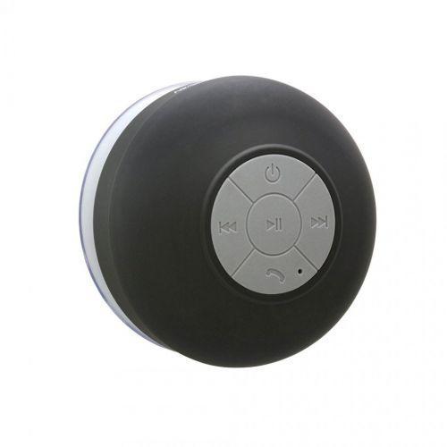 Портативная колонка Bluetooth колонка для душа водонепроницаемая MP3 MHZ BTS-06 Black - изображение 1
