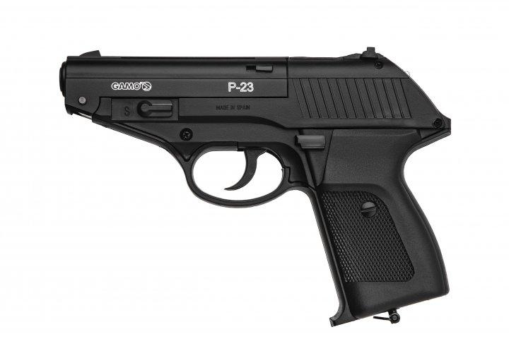 Пистолет пневматический Gamo Р-23 Gamo Черный - зображення 1