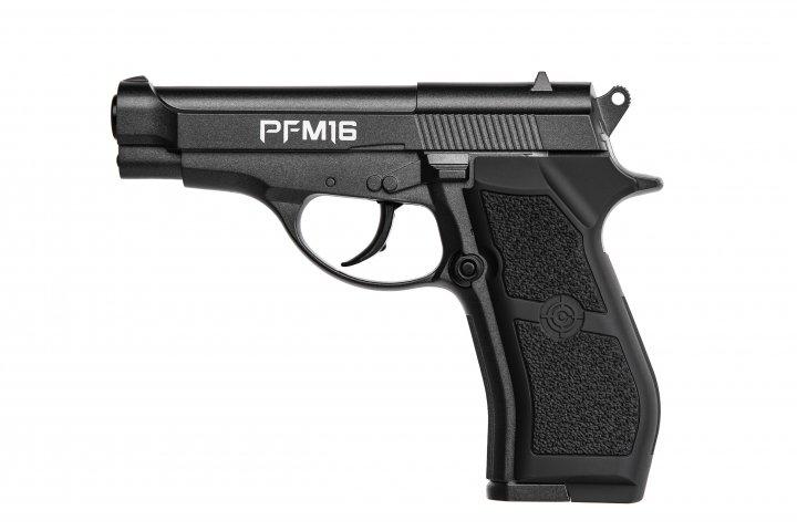 Пистолет пневматический CROSMAN PFM16 Crosman Черный - изображение 1
