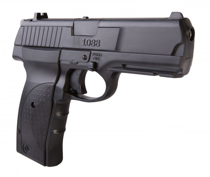 Пистолет пневматический Crosman мод.1088 Crosman Черный - зображення 1