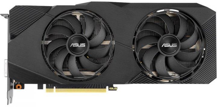 Asus PCI-Ex GeForce RTX 2060 Super Dual EVO V2 Advanced Edition 8GB GDDR6 (256bit) (1470/14000) (DVI, DisplayPort, 2 x HDMI) (DUAL-RTX2060S-A8G-EVO-V2) - зображення 1