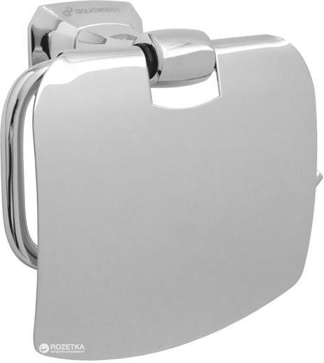 Тримач для туалетного паперу закритий AQUA RODOS Бостон 1204 хром - зображення 1
