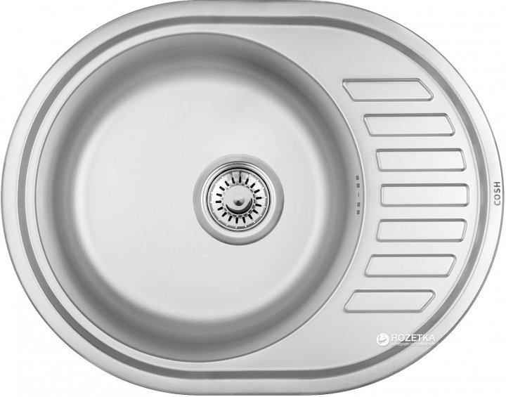 Кухонна мийка COSH 7112 ZS microDecor 08 - зображення 1