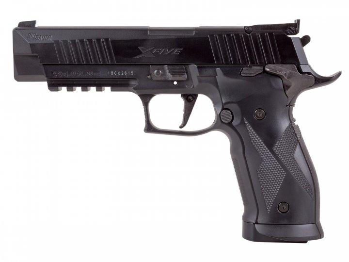 Пістолет пневматичний Sig Sauer Air X-Five Black. 16250142 - зображення 1