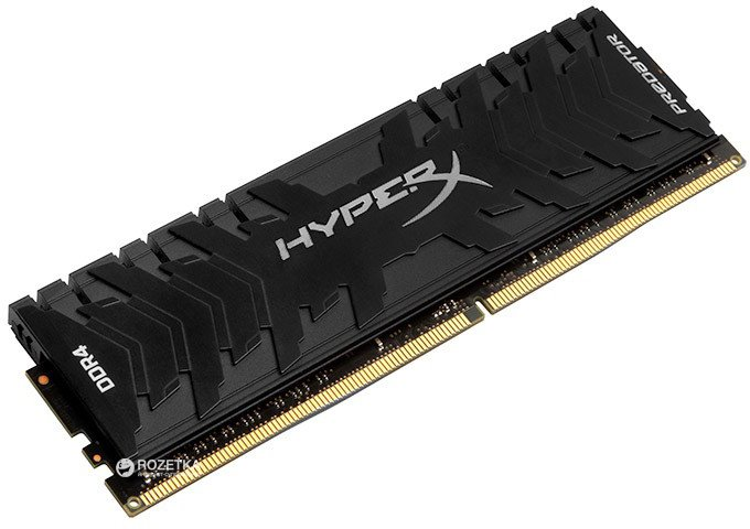 Оперативная память HyperX DDR4-3000 8192MB PC4-24000 Predator Black (HX430C15PB3/8) - изображение 1