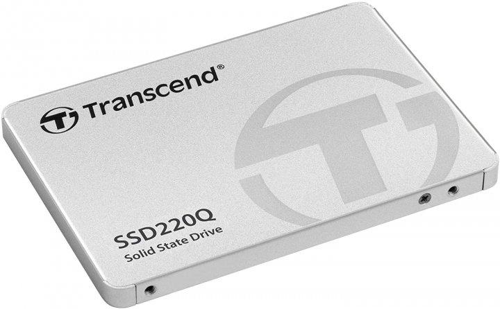 """SSD накопичувач TRANSCEND SSD220Q 1TB 2.5"""" SATAIII, QLC (TS1TSSD220Q) - зображення 1"""
