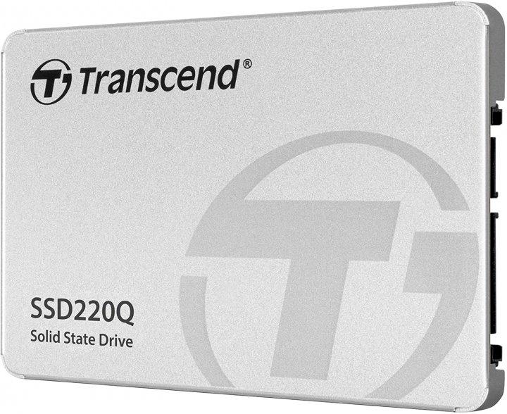 "SSD накопитель TRANSCEND SSD220Q 500GB 2.5"" SATAIII, QLC (TS500GSSD220Q) - изображение 1"