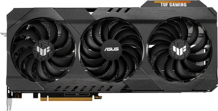Asus PCI-Ex Radeon RX 6800 TUF Gaming OC 16GB GDDR6 (256bit) (1925/16000) (HDMI, 3 x DisplayPort) (TUF-RX6800-O16G-GAMING) - зображення 1