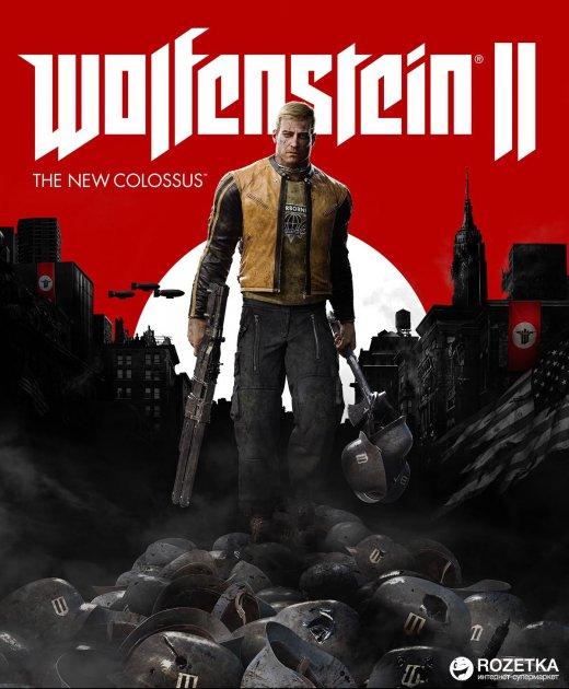 Wolfenstein II: The New Colossus для ПК (PC-KEY, русская версия, электронный ключ в конверте) - изображение 1