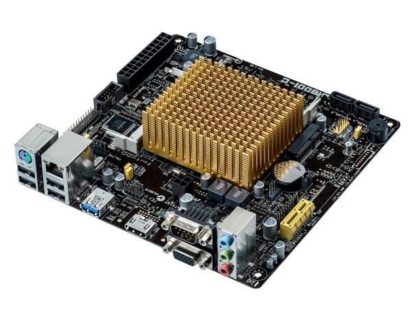 Мат. плата MB Asus J1800I-C (int Dual-core Celeron J1800(2,41GHz)/2хDDR3 SO-DIMM/VC Intel GMA/1xPCI/1x mini-PCIe/2xSATA2/D-Sub, HDMI, COM/GLAN/1xUSB3.0/2xUSB2.0/SB 7.1Ch/mini-ITX) - изображение 1