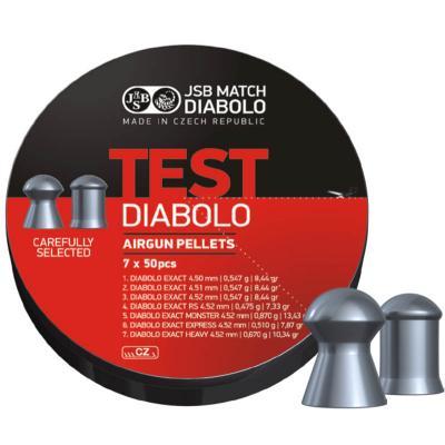Пульки JSB Diablo TEST EXACT (002003-350) - зображення 1
