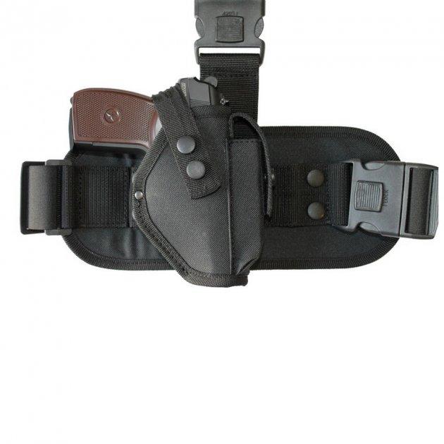 Кобура стегновий Карабін тактична ПМ (K019) - зображення 1