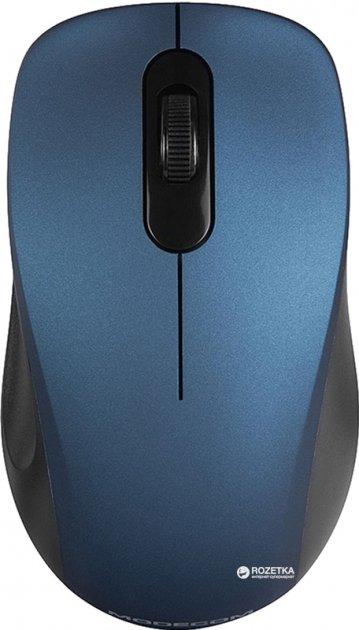 Миша Modecom MC-WM10S Silent Wireless Blue (M-MC-WM10S-400) - зображення 1