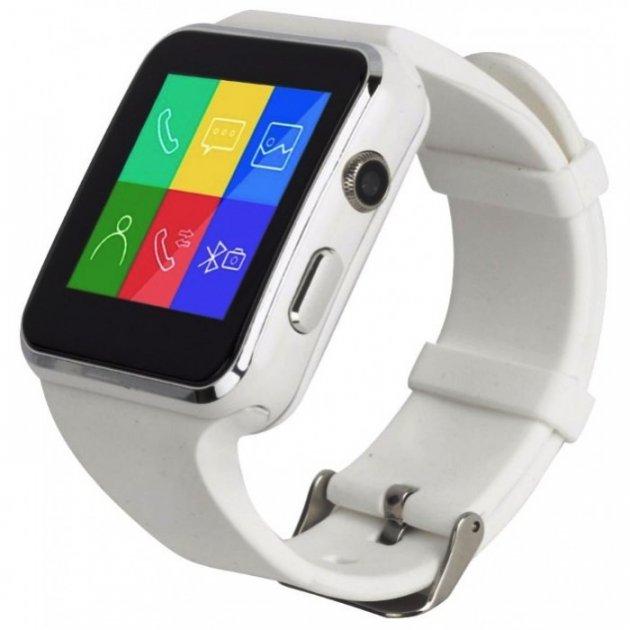Смарт годинник KingWear X6 white - зображення 1
