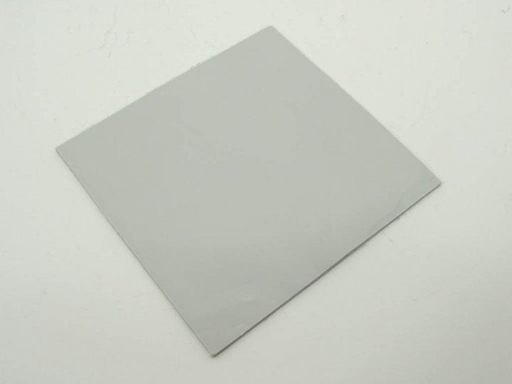 Термопрокладка силиконовая для ноутбука Halnziye (100*100*1.0mm, 4W/m-K) Серая. Применяется для передачи тепла от чипа к радиатору. Рабочая температура от -40 до +200 градусов (63652) - изображение 1