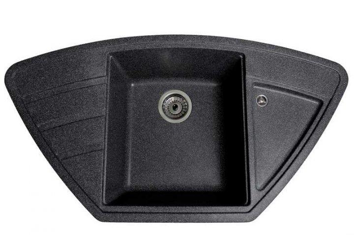 Кухонна мийка Galati Jorum 98B Grafit 201 (8468) - зображення 1