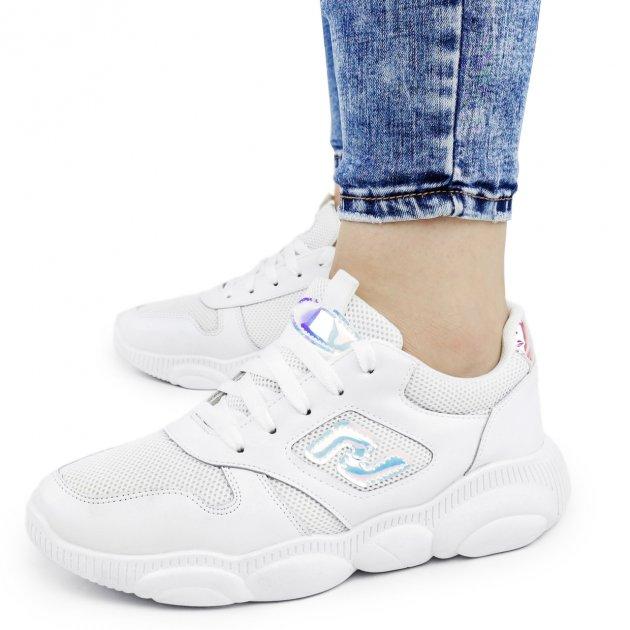 Кросівки жіночі Dual білі чоботи 38 р. - 24,5 см (1340734229) - зображення 1