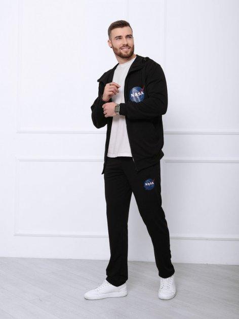 Спортивный костюм ISSA PLUS GN-409 M Черный (2000942189007) - изображение 1