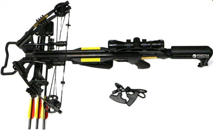 Арбалет Poe Lang PL/CR070BP-40 Blade + 3 стріли + приціл + ківер - зображення 1