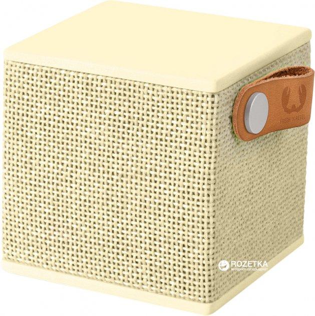 Акустическая система Fresh 'N Rebel Rockbox Cube Fabriq Edition Buttercup (1RB1000BC) - изображение 1