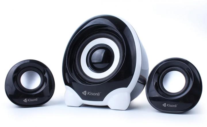 Комп'ютерні колонки Kisonli U-2300 Desktop Speaker 2.1 USB Kisonli - зображення 1