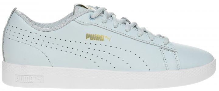Кеды Puma Smash Wns V2 L Perf 36521615 40 (6.5) 25.5 см Plein Air-Team Gold-White (4062451595890) - изображение 1