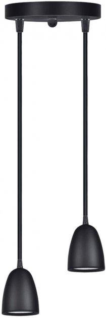 Люстра GLOBAL GPL-01C 14 Вт 4100 K черный (2-GPL-11441-CB) - изображение 1