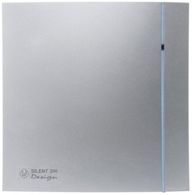 Вытяжной вентилятор SOLER&PALAU SILENT-200 CZ SILVER DESIGN 3C - изображение 1