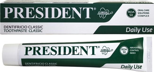 Зубная паста President Clinical Classic 75 мл (8030009700115) - изображение 1