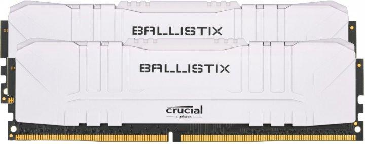 Оперативна пам'ять Crucial DDR4-3200 32768MB PC4-25600 (Kit of 2x16384) Ballistix White (BL2K16G32C16U4W) - зображення 1