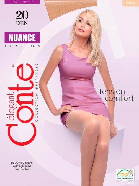 Колготки Conte Nuance 20 Den 6 р Beige (4810226132401) - изображение 1