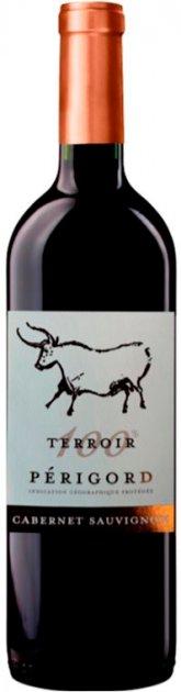 Вино Terroir Cabernet Sauvignon Perigord красное сухое 0.75 л 13% (3423290208012) - изображение 1