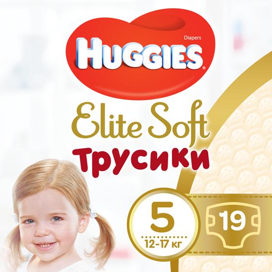 Трусики-подгузники Huggies Elite Soft Pants 5 (XL) 19 шт (5029053546988) - изображение 1