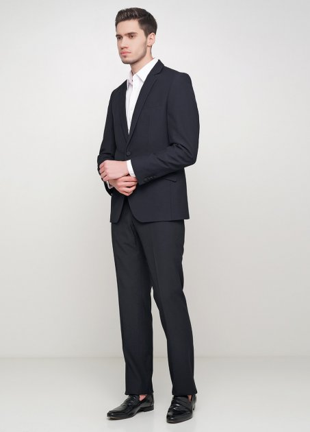 Мужской костюм Mia-Style MIA-247/03 54 черный - изображение 1