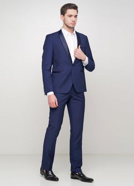 Мужской костюм Mia-Style MIA-292/08 52 темно-синий - изображение 1