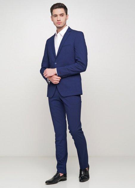 Мужской костюм Mia-Style MIA-304/01 50 темно-синий - изображение 1