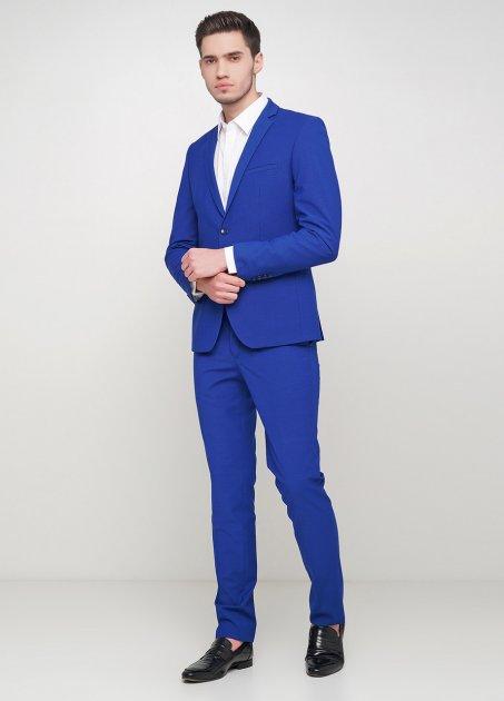 Мужской костюм Mia-Style MIA-310/01 48 синий - изображение 1