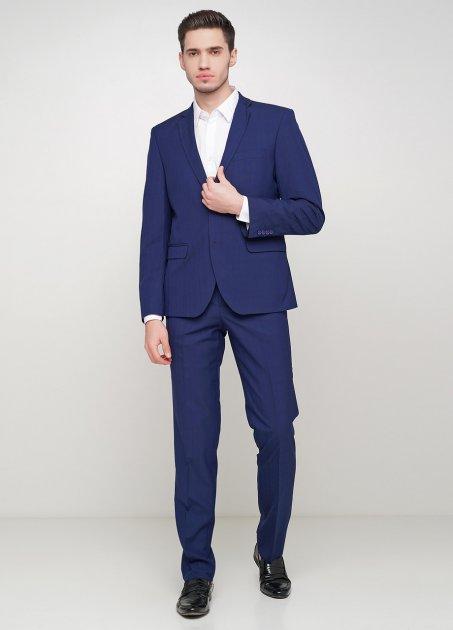 Мужской костюм Mia-Style MIA-299/02 56 темно-синий - изображение 1