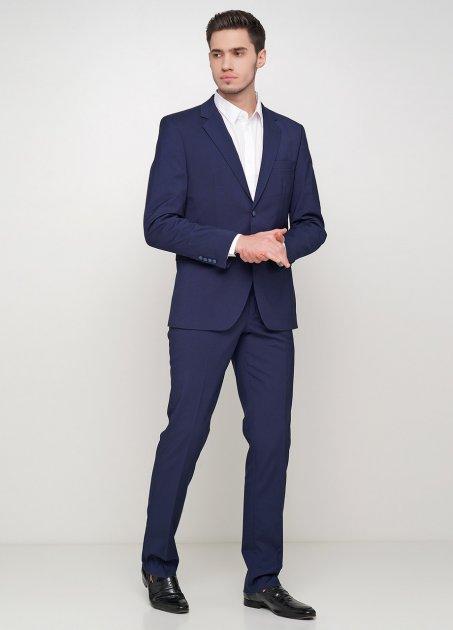 Мужской костюм Mia-Style MIA-308/01 48 темно-синий - изображение 1