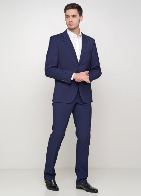 Мужской костюм Mia-Style MIA-308/01 46 темно-синий - изображение 1