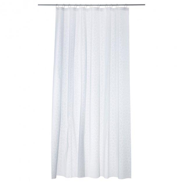 Шторка для ванної IKEA INNAREN білий 502.952.69 - зображення 1