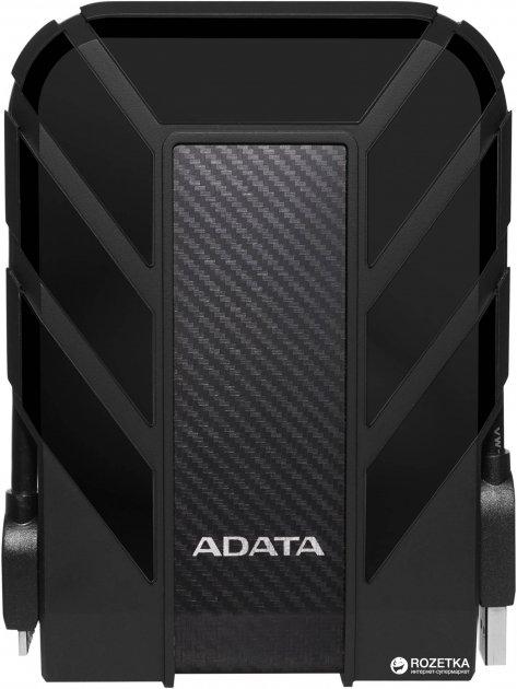 "Жорсткий диск ADATA DashDrive Durable HD710 Pro 2TB AHD710P-2TU31-CBK 2.5"" USB 3.1 External Black - зображення 1"
