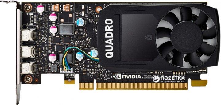 Dell PCI-Ex NVIDIA Quadro P400 2GB GDDR5 (64bit) (3 x miniDisplayPort) (490-BDTB) - изображение 1
