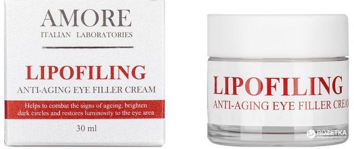 Антивіковий крем-філер під очі Amore Lipofiling Anti-aging з ліпофілінговим комплексом 30 мл (4812458515267) - зображення 1