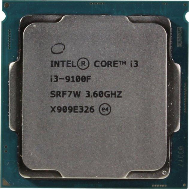 Процесор s-1151 Intel Core i3-9100F 3.6 GHz/6MB (CM8068403377321) Tray - зображення 1