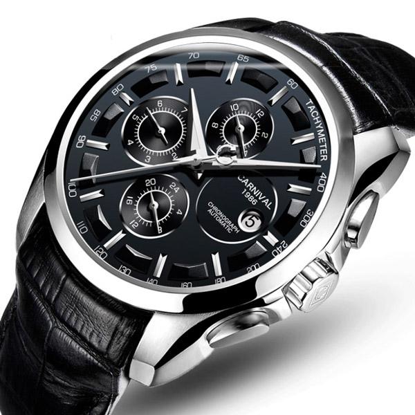 Чоловічі годинники Carnival Genius - зображення 1