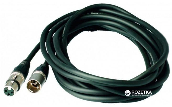 Мікрофонний кабель RockCable RCL30303 D7 3 м Black (RCL30303 D7) - зображення 1