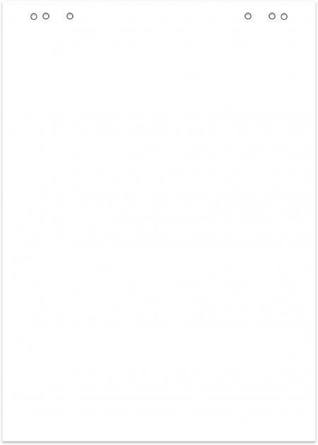 Бумага для флипчартов Buromax Jobmax 64х90 см 10 листов (BM.2294-00)